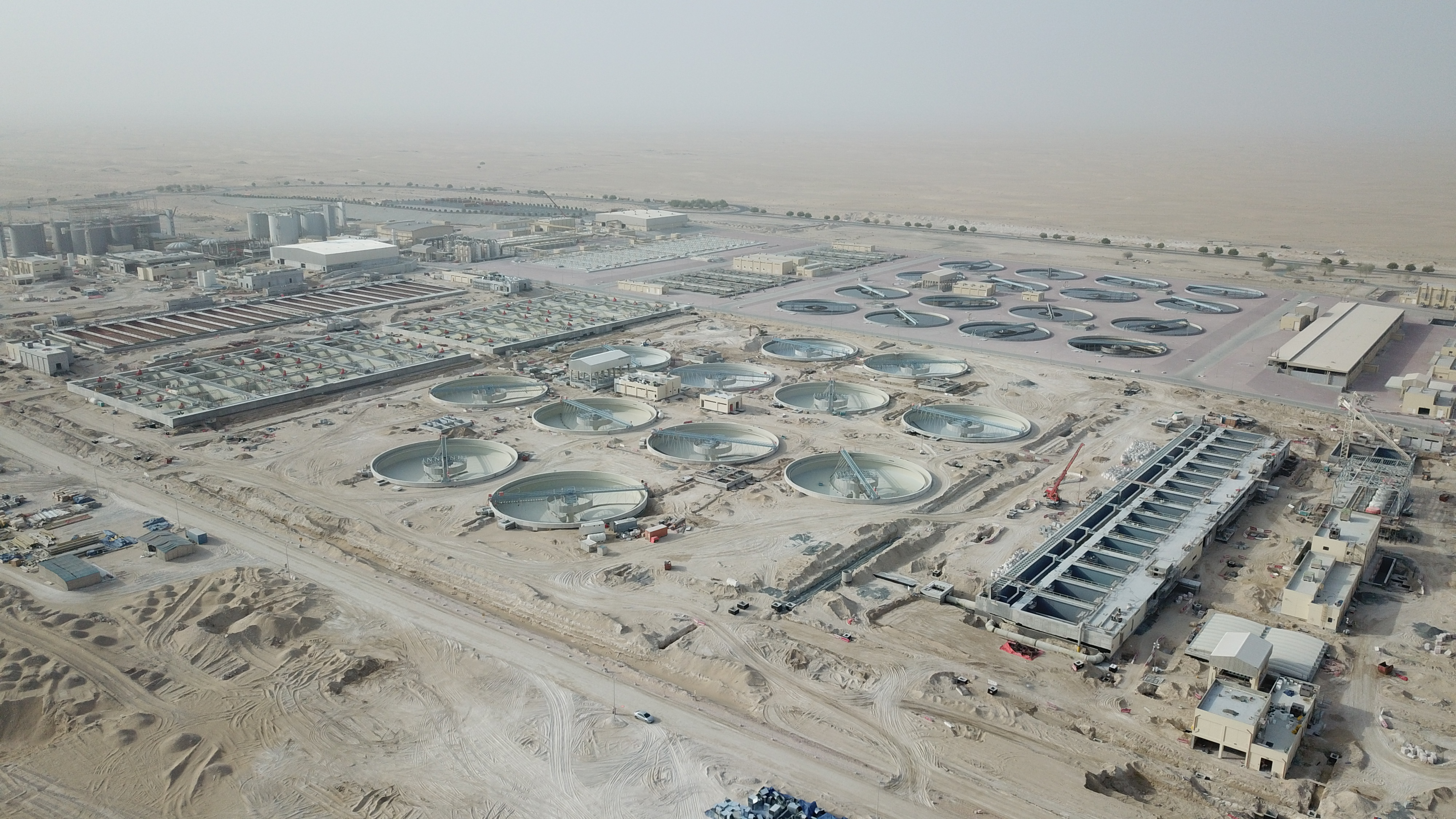 Jebel Ali Sewage Treatment Plant - Six Construct